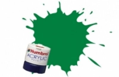 Humbrol Acrylic Paint, Malachite Green - 1