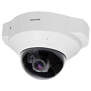 Toshiba Indoor IP Dome Camera 1080p HD, PoE, 3-9mm Lens, IR LED's, Wide Dynamic, 1-Touch Focus (IK-WD14A)