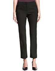 Autograph Slim Leg Cropped Trousers