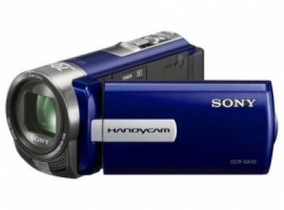Sony Handycam DCR-SX45E - Camcorder - widescreen - 800 Kpix - optical zoom: 6...