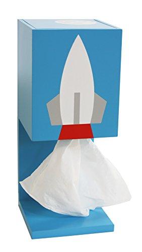 Rocket Tissue Dispenser - Daylight Sky - Blue