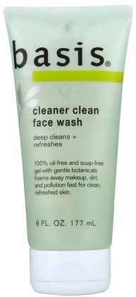 Basis Cleaner Clean Face Wash-6 oz (Pack of 5) [Misc.]