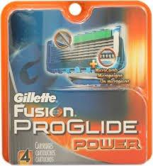 Gillette Fusion Proglide Power Refill Razor 5-Blade Cartridges (4-Piece Pack)-Fusion Proglide Power: 4-Piece Pack (Ru)