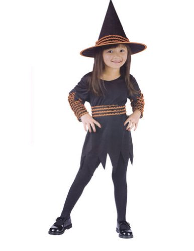 Witch Pumpkin Patch Toddler Costume 24Mnths-2T - Toddler Halloween Costume