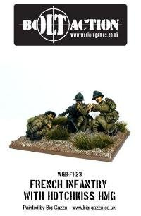 Bolt Action 28mm Early War French HMG Team