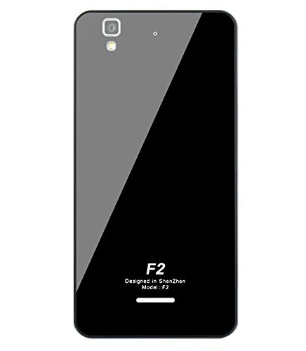 SGC Luxury Tempered Glass Back Aluminium Side Bumper Cover Case for Micromax YU Yureka- Black Silver