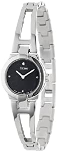 Seiko Women's SUJ703 Stainless Steel Bangle Watch