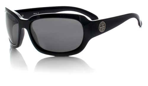 Bolle Fusion Tease Sunglasses,Shiny Black/Polarized TNS