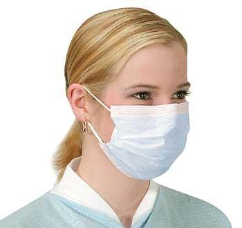 10 Maschere Viso Anti-Influenza con Ganci alle Orecchie Anti Virus e Protettive Anti-Inquinamento