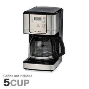 Mr. Coffee JWX31 12-Cup Programmable Pause N Serve Coffee Maker, Stainless Steel (Mr Coffee 4 Cup Stainless compare prices)