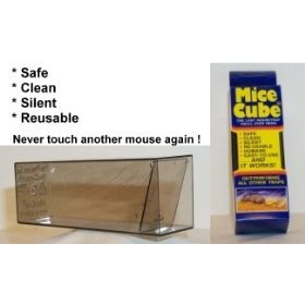Mice Cube 12 Pack - Reusable Humane Mouse Traps