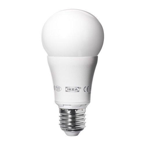 Ikea LEDARE LED bulb E26, 600 Lumens, Dimmable, Globe Opal Opaque (Ledare Bulb compare prices)
