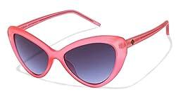 John Jacobs Aventura JJ 2244 Pink Blue C3 Sunglasses