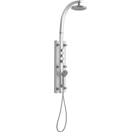 DreamLine SHCM-25780 Rainfall Hydrotherapy Shower Column