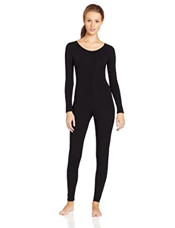 Capezio Women's Long Sleeve Unitard,Black,Small