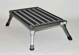Safety Step XL-08C-G Granite X-Large Folding Recreational Step Stool