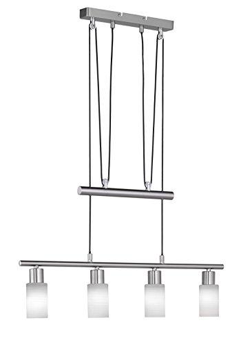 Trio-Leuchten-LED-JoJo-Pendelleuchte-Nickel-matt-Glas-wei-gewischt-371410407