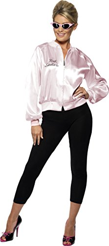 Smiffy's Pink Lady Jacket, For Grease, XL