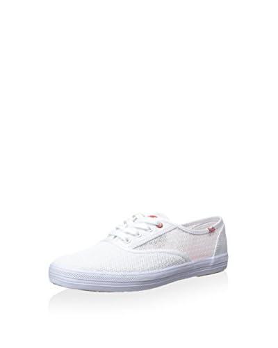 Keds Women's Champion Flower Mesh Fashion Sneaker