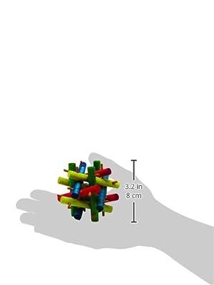 Kaytee Nut Knot Knibbler (Color: Green, Tamaño: Medium, 4)