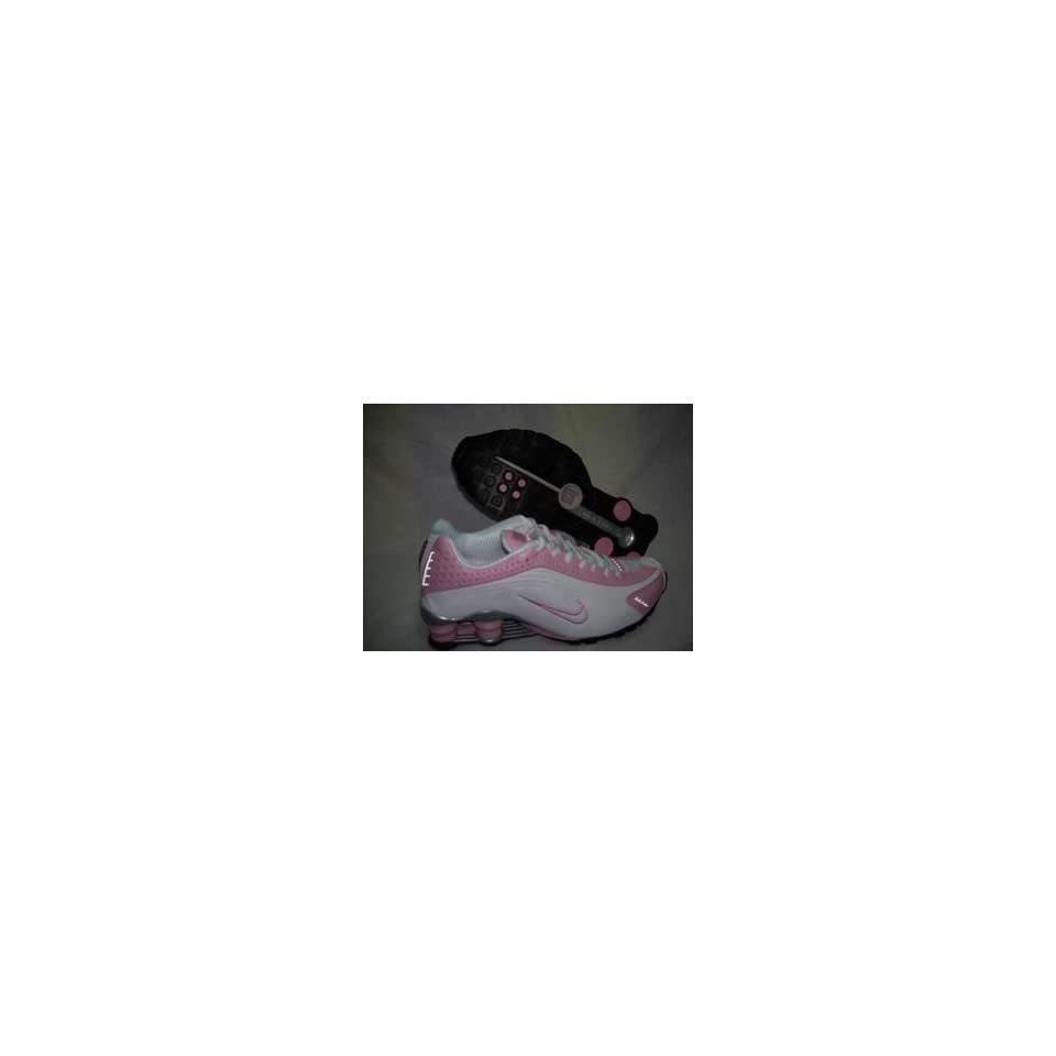 408be76d236036 Nike Shox R4 Pink White Running Shoe Women