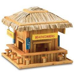 Beachcombers Tiki Bar Birdhouse-2pack