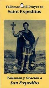 Amazon Com Talisman Amp Prayer To Saint Expeditus San