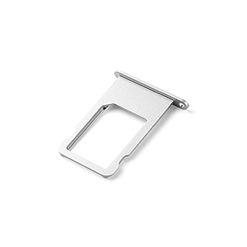 Ewparts SIM Card Tray Replacement for Iphone 6 Plus 5.5 Inch (Silver) (Iphone 6 Tray compare prices)