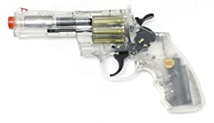 Amazon.com : 937 UHC 4 inch revolver, Clear airsoft gun : Sports