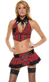 Catholic School Sweetie School Girl Costume