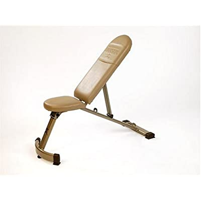 Amazon.com : Danskin Space Saver Bench : Adjustable Weight Benches