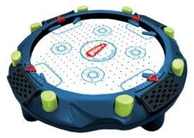 Wham O 360 Degree Tabletop Air Hockey Game Overview