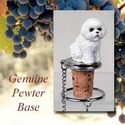 conversation concepts Bichon Frise Wine Bottle Stopper at Sears.com