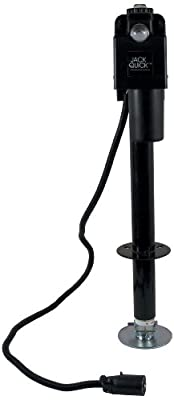 Jack Quick 12V Electric Tongue Jack with Cover and 7-Way Plug