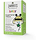Zarbee's Baby Cough Syrup and Mucus Reducer, Grape Flavor, 2 Fluid Ounce