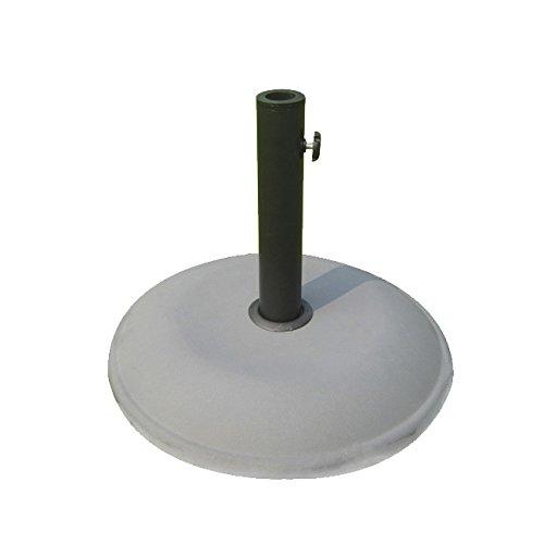 Papillon Base Per Ombrellone Tonda In Cemento - Misura Diametro 40 Cm - Peso 16 Kg