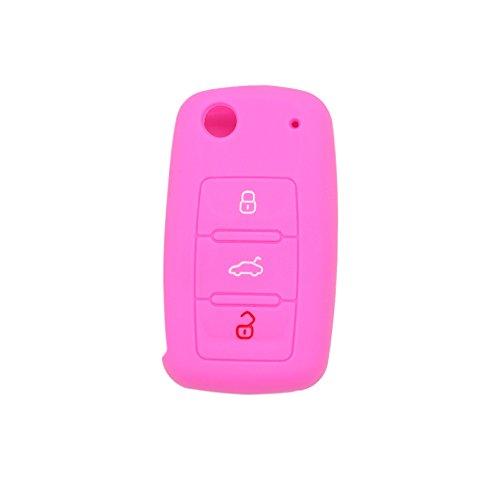 fassport-silicone-cover-skin-jacket-for-volkswagen-skoda-seat-3-button-flip-remote-key-cv2802