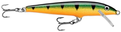 Rapala Original Floater 18 Fishing lure, 7-Inch, Perch from Rapala