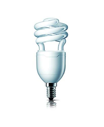 Philips Philips Tornado E14 11-Watt CFL (Warm White And Pack Of 2) (Beige\/Sand\/Tan)