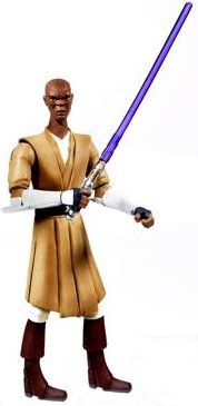 Star Wars Clone Wars Animated Action Figure Mace Windu