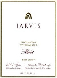 Jarvis Winery Merlot 2006 750Ml