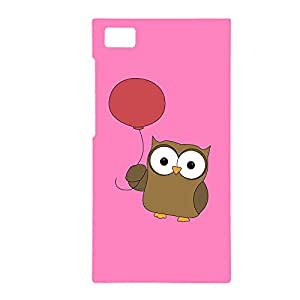 100 Degree Celsius Back Cover for Xiaomi MI 3 (Pink Owl)