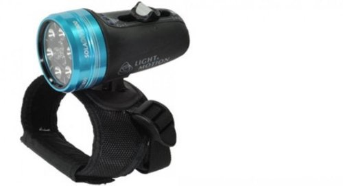 Light And Motion Sola Dive Light (800-Lumens, Blue)