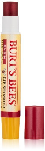 burts-bees-lip-shimmer-raisin-009-ounce-pack-of-4-by-burts-bees