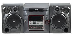 RCA RS2652 Bookshelf Stereo with 5-Disc CD Changer