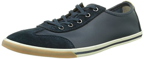 Clarks Mego Race - Sneaker da uomo, blu (navy leather), 44