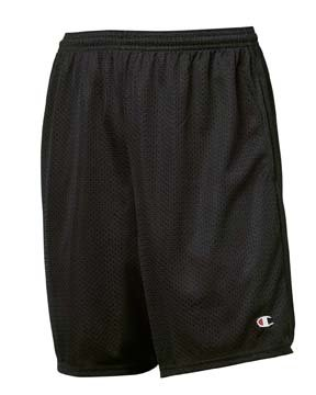 Champion Long Mesh Shorts with Pockets