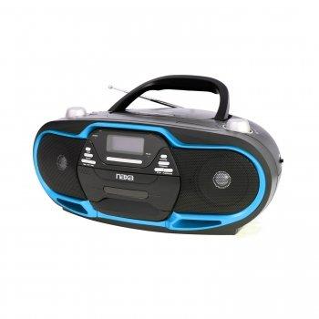 Naxa NPB-257 Portable MP3/CD Player, AM/FM Stereo Radio & US