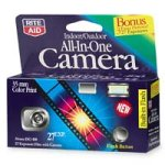Rite Aid All-In-One Disposable Camera, Indoor/Outdoor Use - 27 exposures