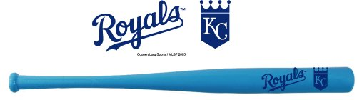 Official MLB 18 Inch Color Mini Baseball Bat-Kansas City Royals-Light Blue